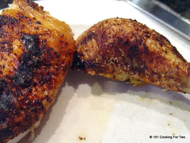 Crispy Spiced Up Oven Roasted Chicken