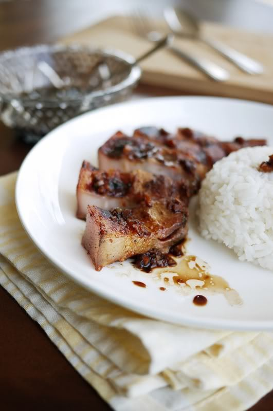 Salt and Vinegar Grilled Pork