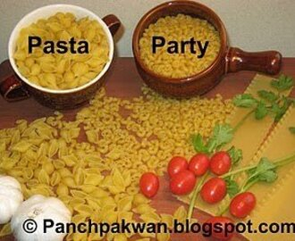 My Entries for Pasta Party Event