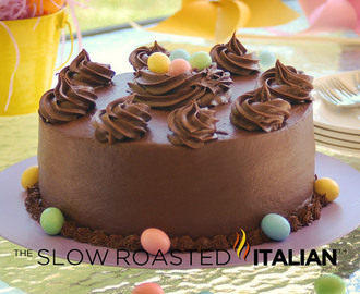 Hershey's Perfectly Chocolate Cake for Easter