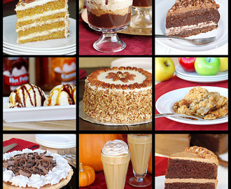 Desserts To Be Thankful For