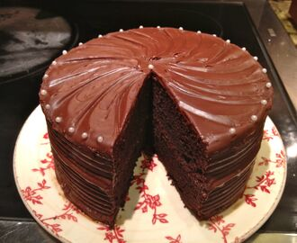 Got Milk? How about a nice thick piece of Old Fashioned Fudge Cake to go with it?