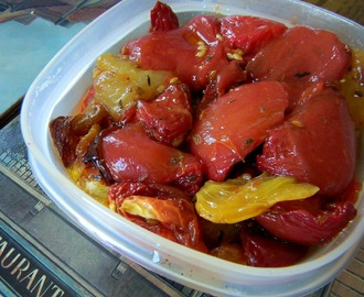Toast Topper #8: Tomato Confit for #SundaySupper