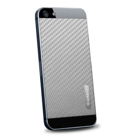 Spigen skin guard carbon skin till apple iphone 5 / 5s / se