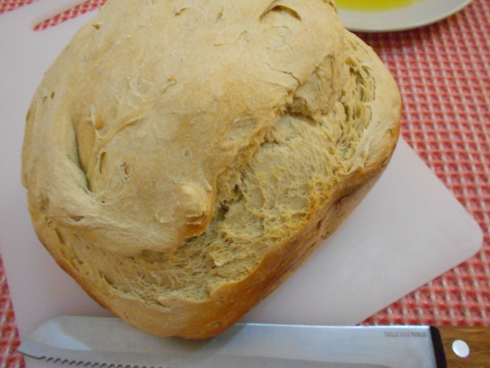 Pão Quente e Tiborna - ( Hot bread with olive oil and garlic WORLD BREAD DAY 2015 )