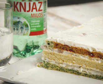 {Video recept} Šarena slana torta
