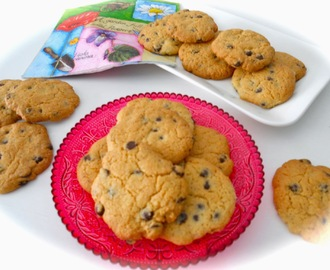 Galletas americanas (chocolate chip cookies)