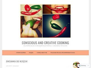 Conscious and Creative Cooking