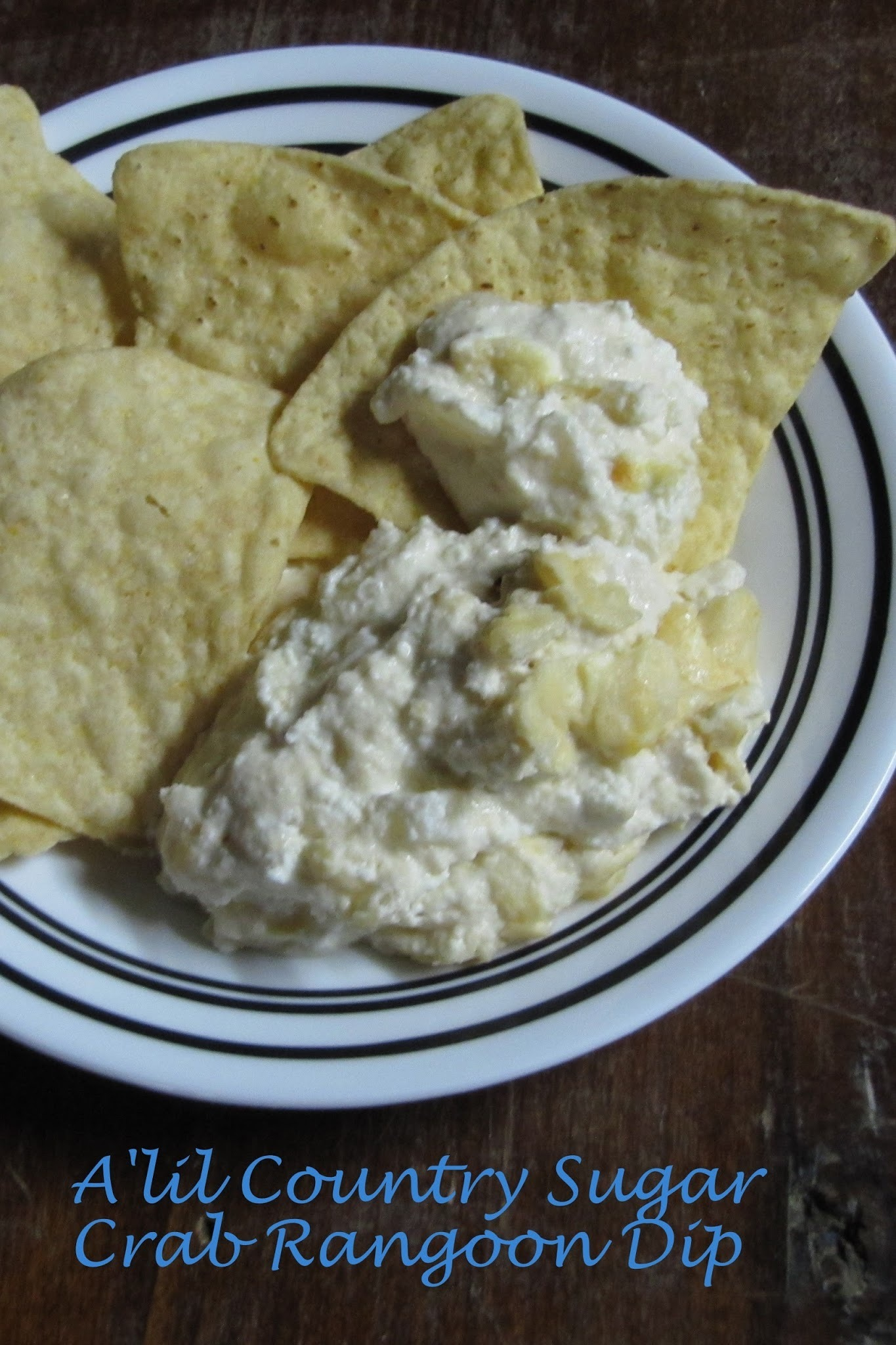 Those Little Fried Chinese Rangoons: Crab Rangoon Dip