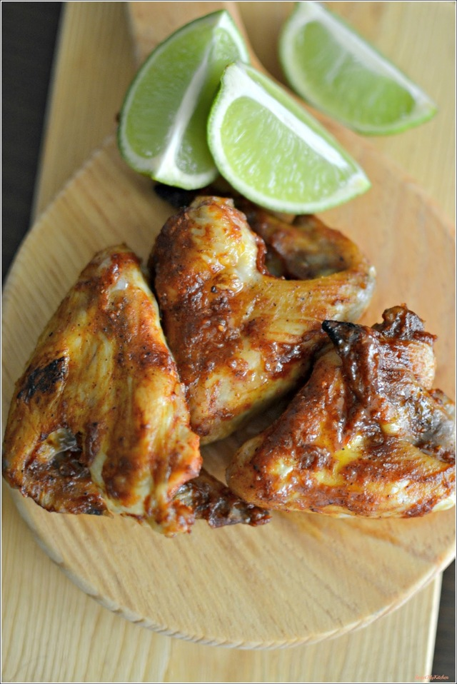 Sweet & sticky chicken wings