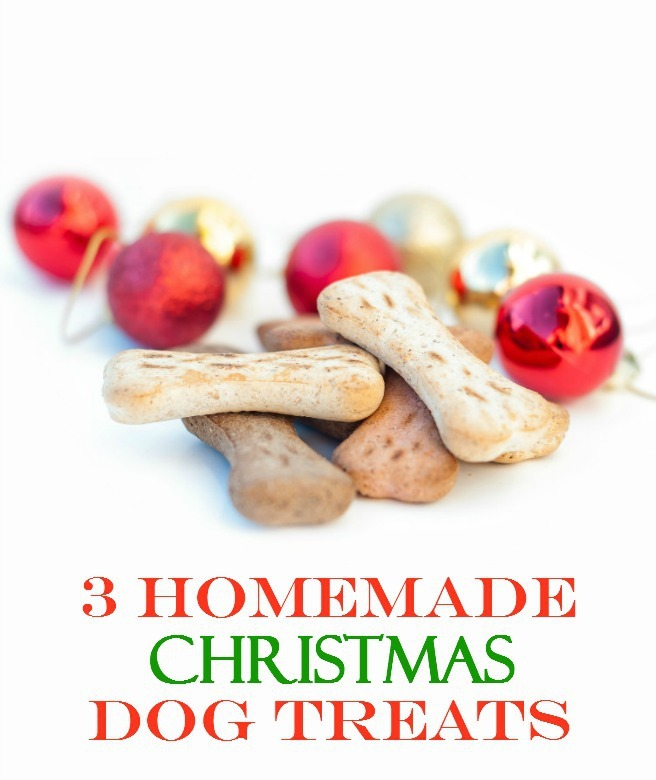 3 Homemade Christmas Dog Treats