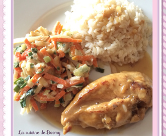 Escalopes de poulet à la cancoillotte WW ( Cookeo )