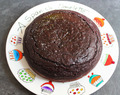 Bizcocho de chocolate y alubias rojas / Sponge cake with chocolate and red beans