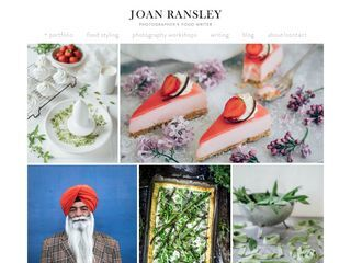 Joan Ransley food, photography and illustration
