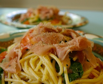 Quick Fix: Pasta with Prosciutto & Arugula