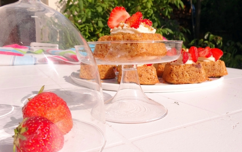 Cupcakes speculoos-fraises