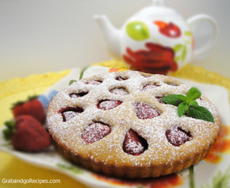 Italian Strawberry Tart Recipe