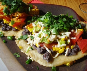 Vegan Sunday Brunch, Episode 14: Breakfast Tostadas