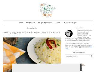 the veggie indian