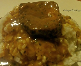 Beef Chuck Tenders In Gravy