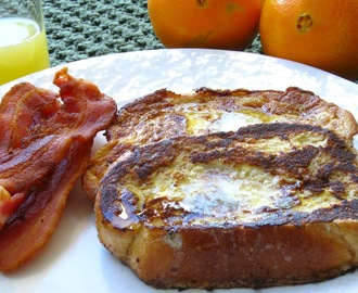 Weekend Blog Showcase:  Orange French Toast