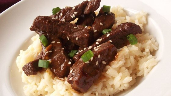Super-Simple, Super-Spicy Mongolian Beef