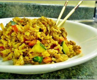 Turkey Vegetable Fried Rice