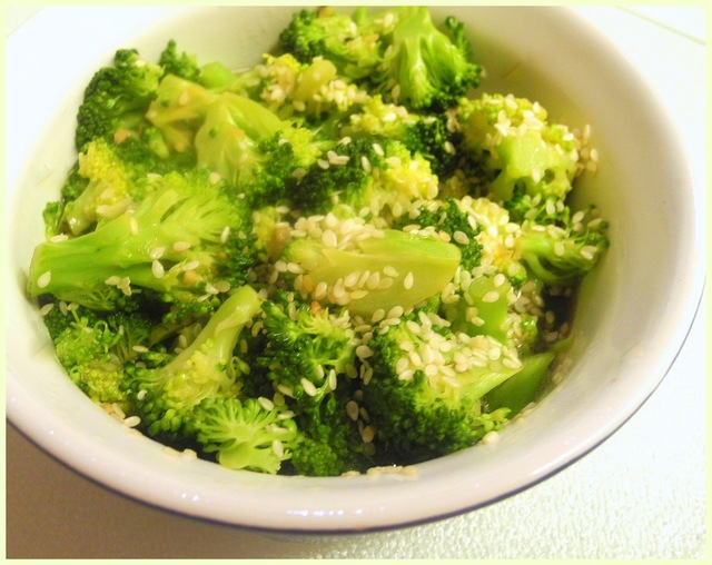 Honey Sesame Broccoli