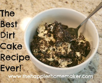 Best Dirt Cake Recipe. Ever.