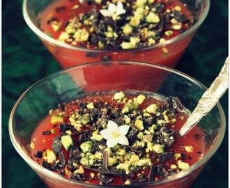 Il Gelo di Mellone - Watermelon pudding