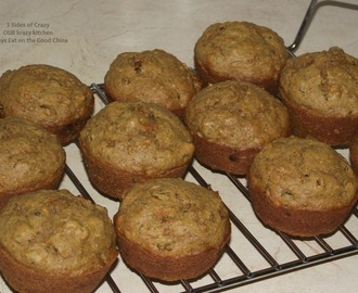 CARROT BRAN MUFFINS - MOIST, JUICY and ADDICTIVE!