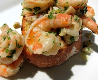 Shrimp Toast Recipe (Tostado de gambas)