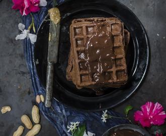 Ricette di waffle cioccolato mytaste for Decorazione waffel