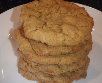 Cornflake Coconut Butterscotch Cookies