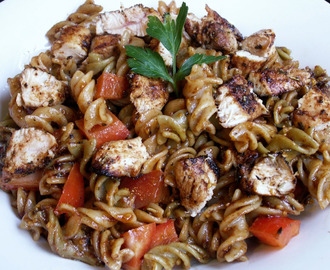 Blackened Chicken Pasta Pisavera