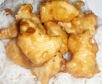 Orange Chicken gluten free
