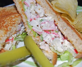 Lobster Dill Sandwich