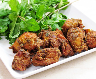 Spicy and Aromatic Fried Chicken