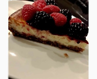 Cheesecake light cotta al forno