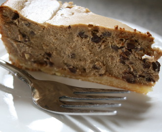 Espresso Chocolate Chip Cheesecake