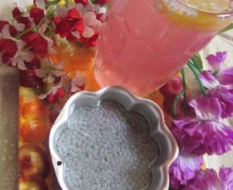 PINK COOLER (NANNARI WITH SABJA SEEDS)