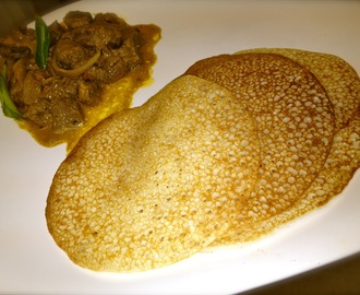 Appam and Beef Mappas