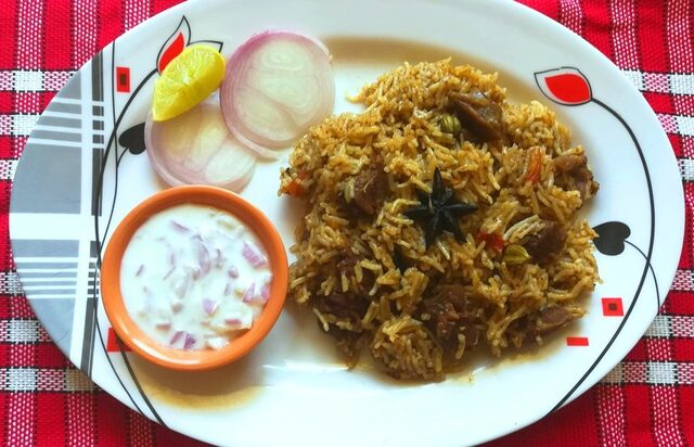 mutton biryani recipe, how to make easy mutton biryani recipe, Lamb Biryani