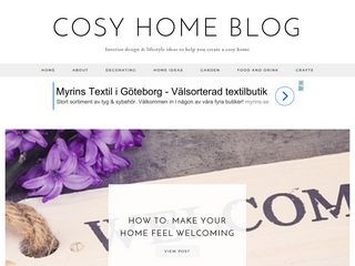 Cosy Home Blog