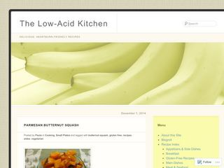 The Low-Acid Kitchen