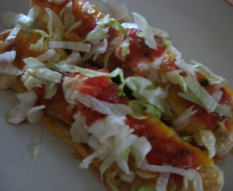 Chicken & Green Chile Enchiladas