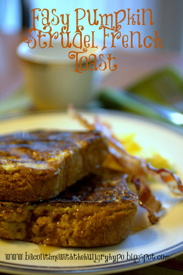 Easy Pumpkin Strudel French Toast