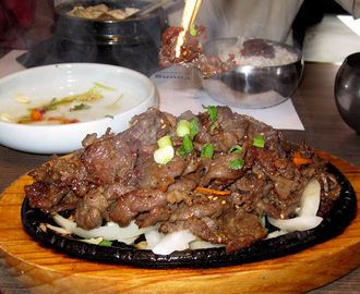 Bulgogi, Korean Barbequed Beef