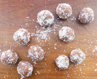 No Bake Chocolate Balls (eggless)....step by step.