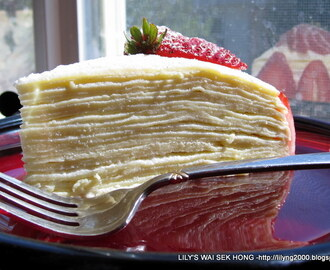 20 Layers Crepe Cake